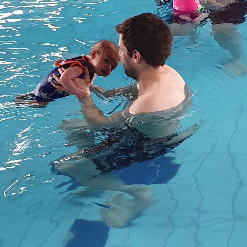 Tummy Time Swimming